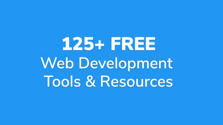 free web development tools and resources