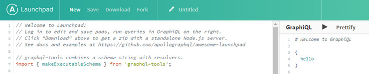 graphQL Screenshot