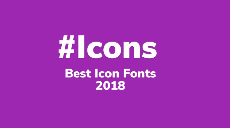 the best free icon fonts