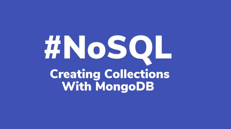 creating collections with mongodb