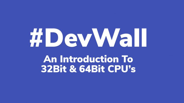 introduction to 32bit and 64bit cpus
