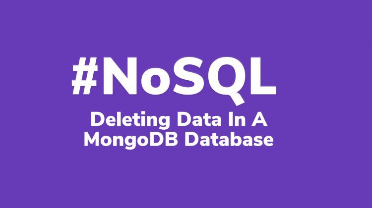 deleting data from mongoDB database