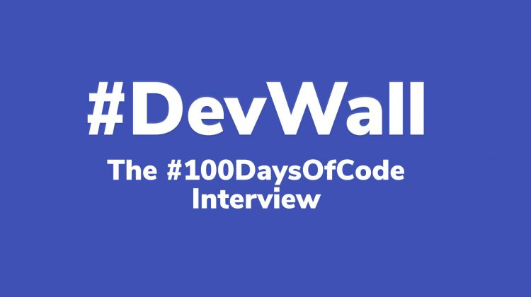 100daysofcode interview