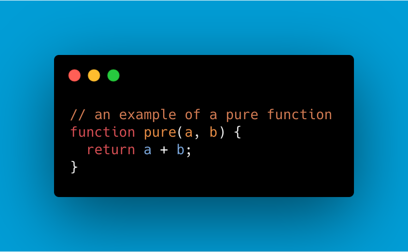 what is a pure function