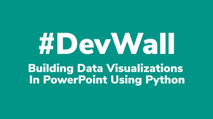 Building Data Visualizations in PowerPoint Using Python