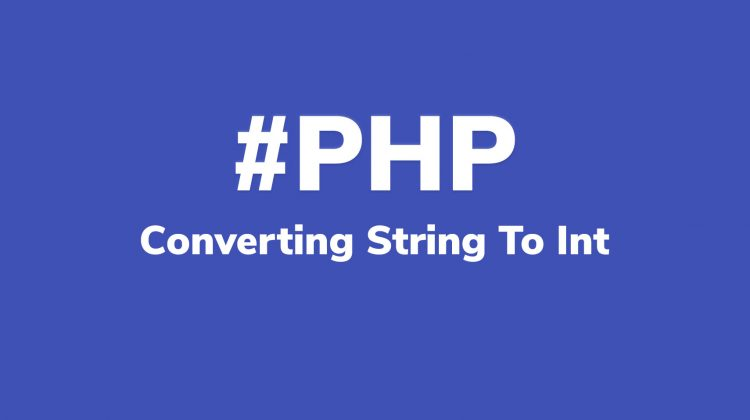 convert string to int php